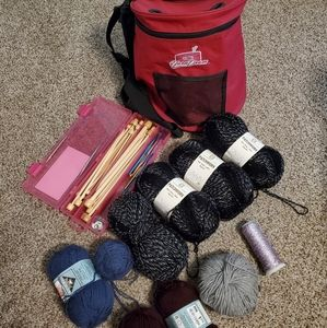 Knit and crochet kit